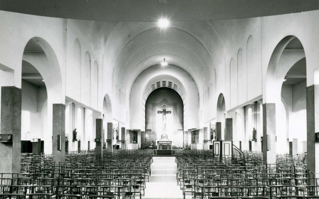 L'église Saint-Symphorien de l'architecte Edmond Simon (1928-1931) CJ78 2012