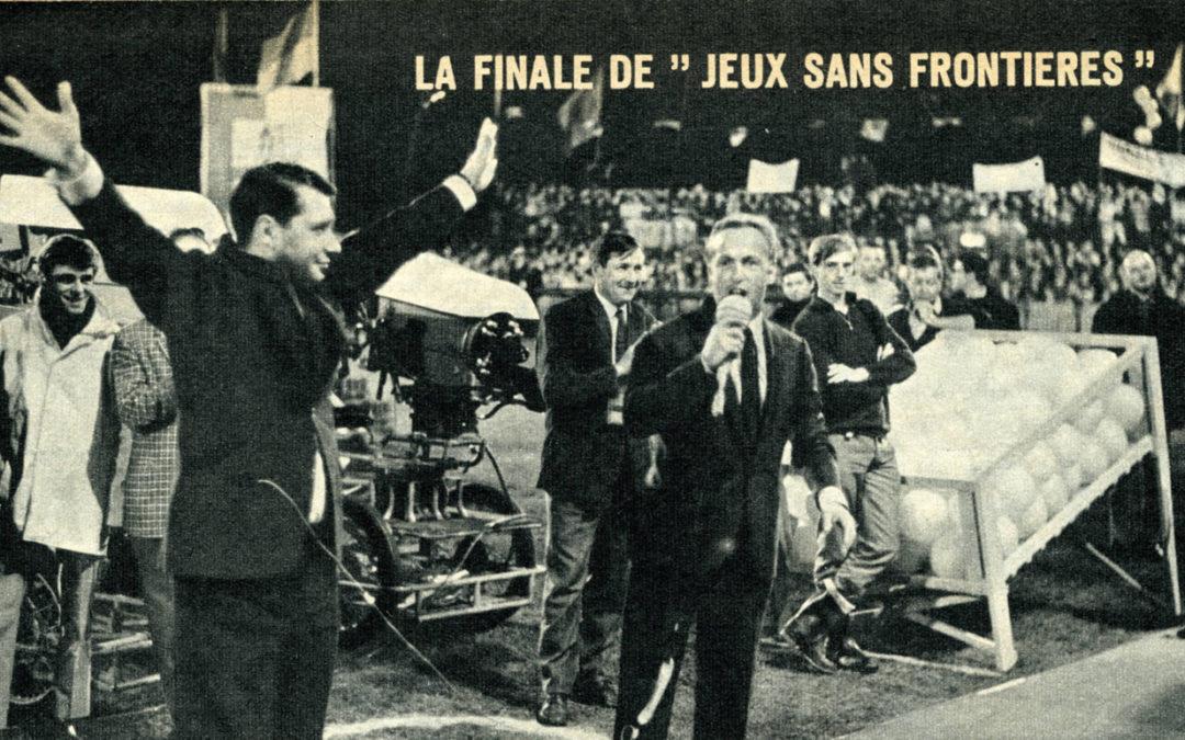 La finale de «jeux sans frontières» s'est déroulée à jambes en 1966 CJ82 2013