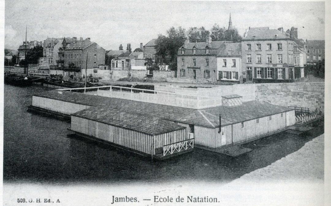 La natation dans la Meuse à Jambes – CJ87 2014