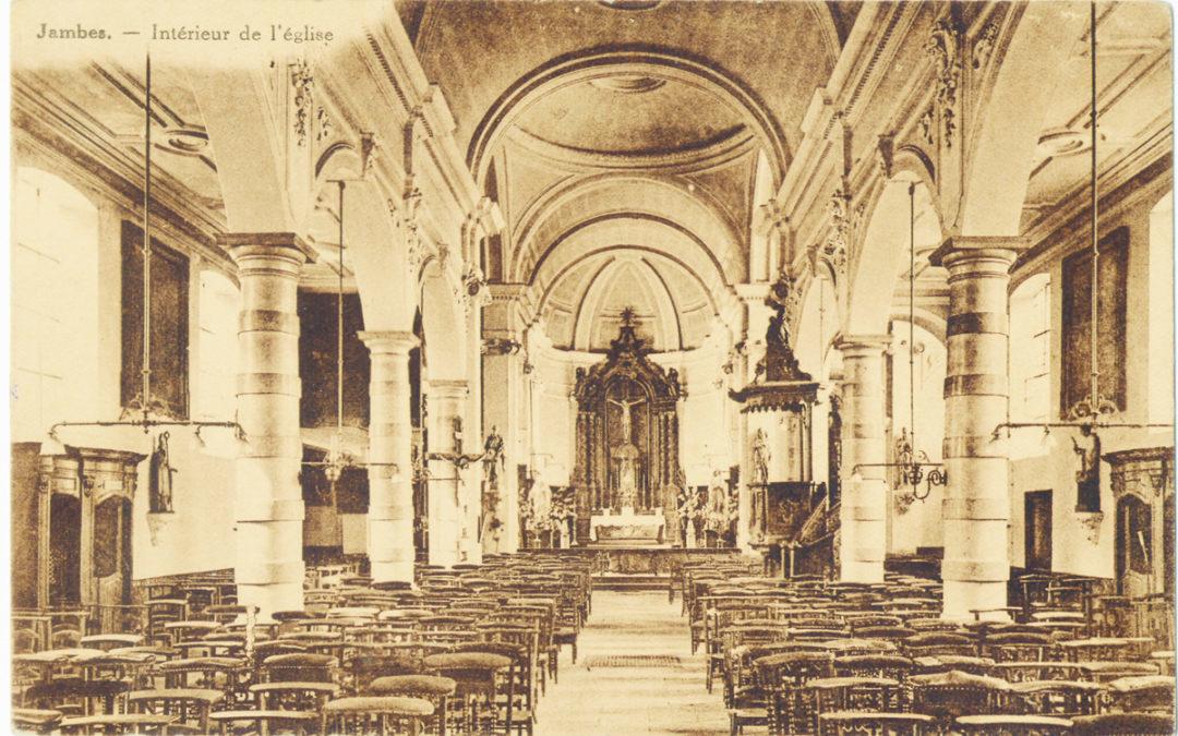 De l'église Saint-Symphorien de Jambes à l'église Saint-Rémi d'Hanret CJ65 2009