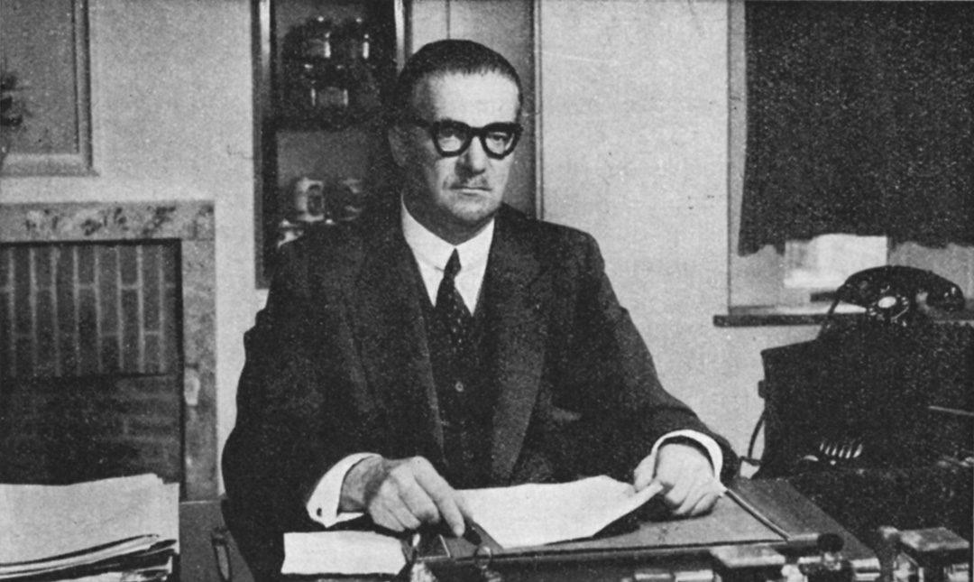 Jean Materne  (Wépion, 1889-Namur, 1964), industriel, sénateur et bourgmestre de Jambes CJ52 2006